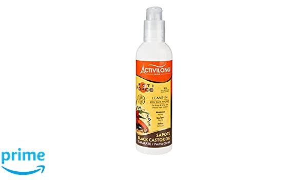 Activilong Actiforce Leave In - Tratamiento capilar sin aclarado, ricino y sapote, 240 ml: Amazon.es: Belleza
