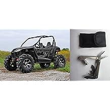 Bundle 2 items: Super ATV Artic Cat Wildcat Trail Lift Kit - 2-3 Inch Adjustable and FREE Unhinged ATV Multi-Tool
