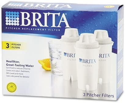 Water Filter Pitcher Advanced Replacement Filters 3//Pack