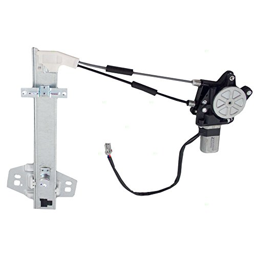 Drivers Rear Power Window Lift Regulator with Motor Assembly Replacement for Honda 72750SV4003