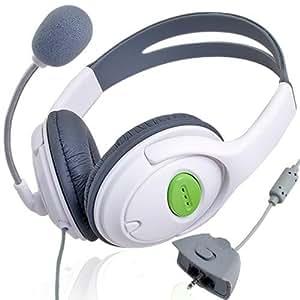 Crazo Auriculares Casco Headphone con Microfono para Xbox 360