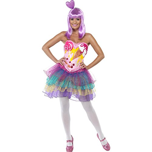 Pop Rocks Candy Costume (Smiffy's Candy Queen Costume, Multi, X-Small)