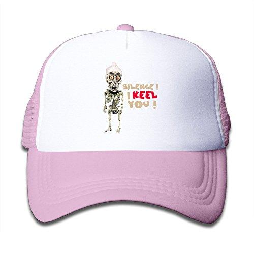 MEGGE Jeff Dunham Unisex Children Baseball Cap Pink