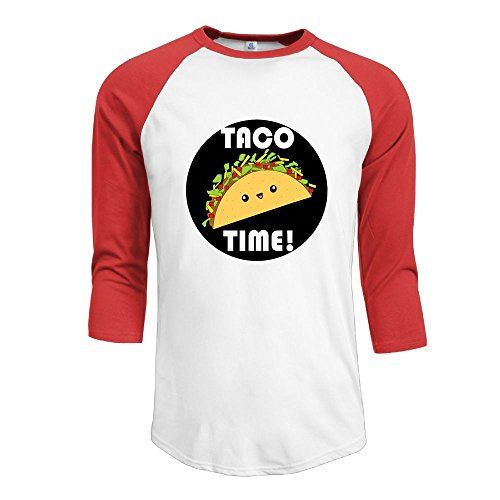 MarskTOTO TACO TIME Men Comfort Raglan S - Village Menu Hut