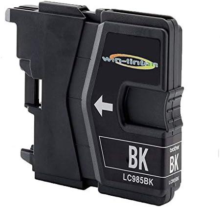 D&C - Cartuchos de tinta compatibles con Brother LC-985 BK XL para Brother DCP-J 125, DCP-J 140 W, DCP-J 315 W, DCP-J 315 X, DCP-J 415, DCP-J 515 W, MFC-J 220, MFC-J