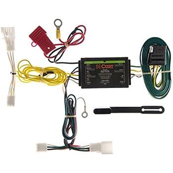 41CfOAii8fL._SL500_AC_SS350_ amazon com curt 56137 custom wiring harness automotive Curt 7 Pin Wiring Harness at bayanpartner.co