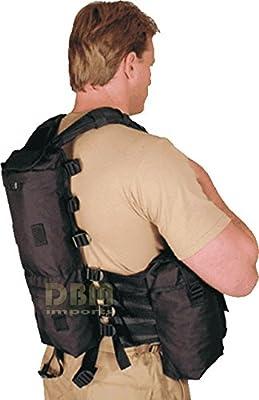 BLACK DURBAN Tactical Assault Vest Hydration Carrier Magazine Pouch