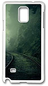 Foggy Mountain Railway Case Cover for Iphone 5/5S, Case, Iphone 5/5S