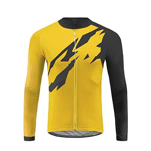 Future Sports UGLYFROG Jersey de Ciclismo de Visibilidad Extrema, de Manga Larga, Ajuste Slim Fit, Camiseta de MTB…