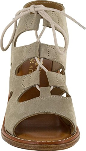 Italy Womens Bella Leather Suede Vita Taupe Bre w755qtf