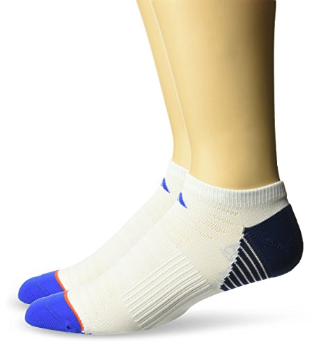 adidas Mens Superlite Speed Mesh No Show Socks 2 Pack