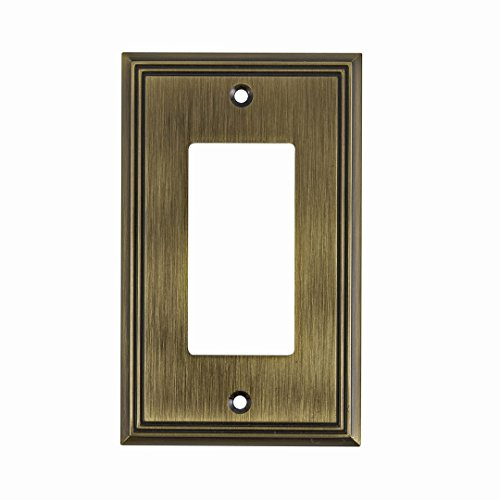 Switch Style Decora (Richelieu Hardware Contemporary Style 1 Decora Switch Plate, 4.91