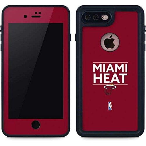 Miami Heat iPhone 7 Plus Case - Miami Heat Standard - Red | NBA X Skinit Waterproof Case