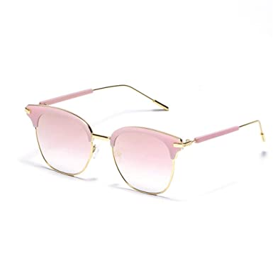 MJ Glasses Gafas de sol Espejo clásico de malla cuadrada ...