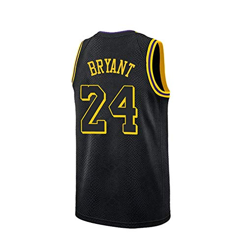 73c753de Mens Kobe Los Angeles 24 Bryant Jersey Basketball Black Size (Black,  XX-Large)