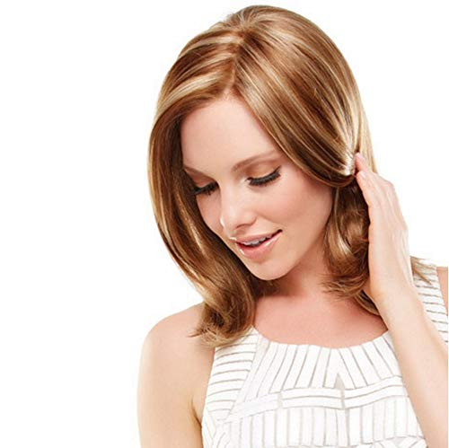 Amaping Glueless Short Straight Bob Lace Front Brazilian Wigs Simulated Human Hair For Black Women Cosplay Hip Hop Wig High Density