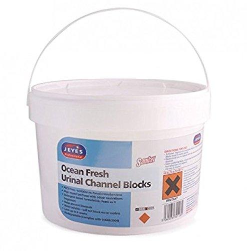 Jeyes 044103 NB sanilav canal urinario bloques, Ocean Fresh, 3 kg (Pack de 150) 3kg (Pack de 150) Selden Research Ltd SEL541016