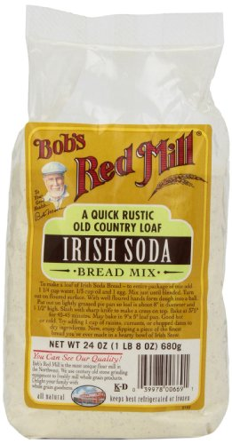 - Bob's Red Mill Irish Soda Bread Mix, 24 oz