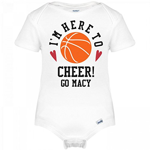 FUNNYSHIRTS.ORG Basketball Here To Cheer Go Macy: Infant Gerber - Court Macy's