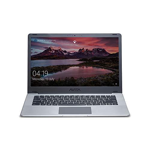 AVITA PURA NS14A6INT441-SGGYB 14″ (35.56cms) Laptop (8th Gen Intel Core i3-8145U / 4 GB RAM / 256 GB SSD/Windows 10 Home/FHD/Intel® UHD Graphics 620/1.34Kg), Space Grey with 3-in-1 Grey Sleeve