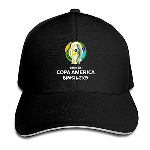 D52D4FDSJ Coppa America 2019 Logo Baseball hat Contton Caps Unisex Black