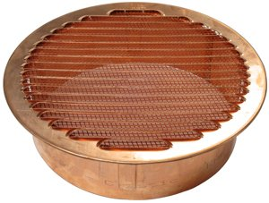 Round Copper Vent - 8-1/4'' (180mm) Diameter