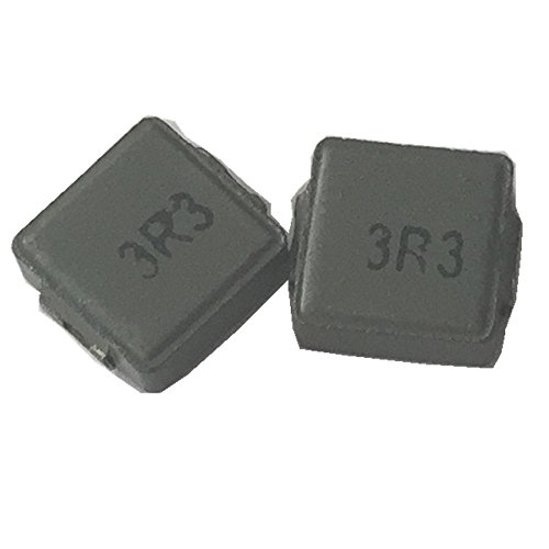 50ea 3.3uH fixed Shielded Wirewound inductor transformer 6X6X3mm surface mount Hondark HK Limited