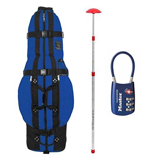 Club Glove Last Bag Pro Golf Travel Cover w/ Free Stiff Arm & TSA Lock (Club Glove Golf)