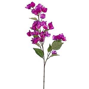 "34"" Silk Bougainvillea Flower Spray -Purple/Orchid (Pack of 12) 109"