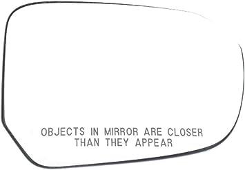 OEBrands Fits 11-15 Volt Right Pass Heated Convex Mirror Glass w//Rear Holder OE