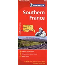 Michelin France South Map 725