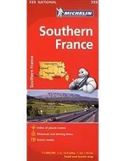 France Sud 725 - Carte nat.