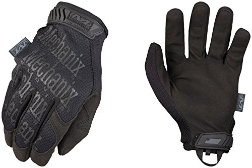 Mechanix Wear - Original Covert Tactical Gloves (Large, Black)