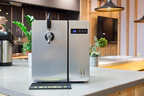 SYNEK Countertop Craft Beer Dispenser (Stainless Steel)