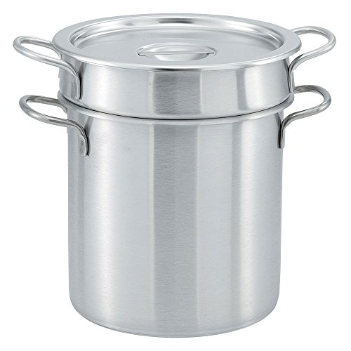 Vollrath 77110 11 Qt. Stainless Steel Double Boiler Set by Vollrath