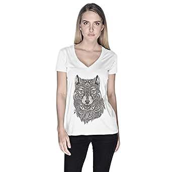 Creo T-Shirt For Women - S, White