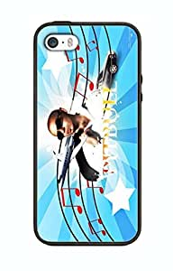 Pitbull Singer Design Case For Iphone 5c Silicone Cover Case PI06
