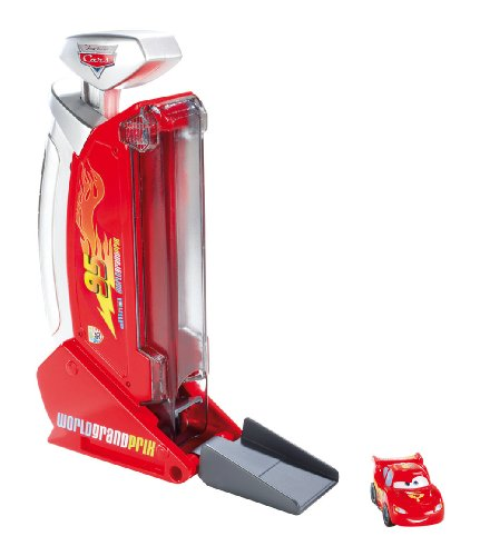 Mattel - Cars - Micro Drifter - Launcher - Lanceur + Mini Voiture (Import Royaume-Uni)
