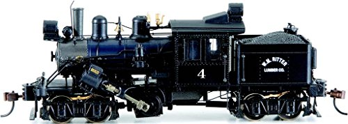 Bachmann Industries Trains 50-Ton Two Truck Climax Dcc Equipped W.M. Ritter #4 Ho Scale Steam Locomotive