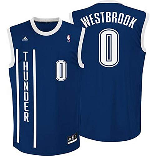 Oklahoma Russell Silk - adidas Russell Westbrook Oklahoma Thunders Alternate Navy NBA Toddler Revolution 30 Replica Jersey (Toddler 2T)
