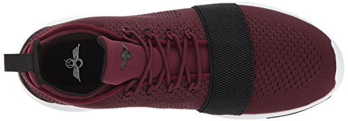 Uomo Ginnastica Creative Burgundy Recreation Da Scarpe Ceroni Dark AXOAq