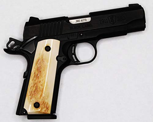 DURAGRIPS - Browning 1911-22 1911-380 Grips .22 .380 Faux Horn Antlers - Faux STAG ()