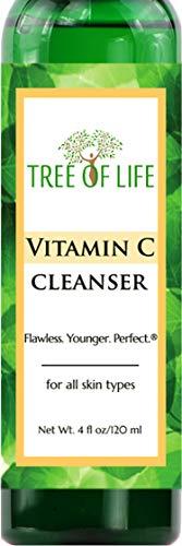Vitamin C Facial Cleanser Rejuvenating Face Scrub