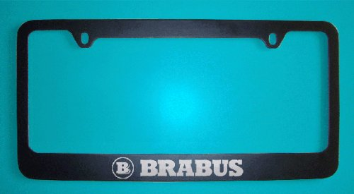 mercedes-benz-brabus-black-license-plate-frame-zinc-metal