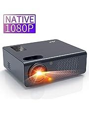 Artlii Vidéoprojecteur - Energon Plus, Videoprojecteur Full HD, Retroprojecteur natif 1920X1080P, Projecteur de Son Stéréo, Max 250 '', Compatible HDMI, PC, USB, AV, Macbook pour Home cinéma, Jeu