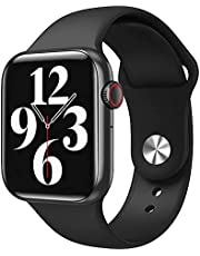 HW22 Smart Watch 1.75 Inch Full Curved Touch Screen Black