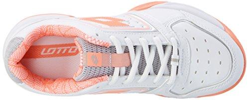 Chaussures Blanc Neo ros Lotto 600 wht Ix tour De Sport Tennis W T Femme BRxqYwZ