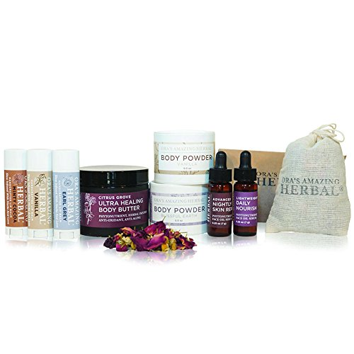 Love-Your-Skin-Natural-Herbal-Skin-Care-Gift-Set-With-Organic-Potpourri-Oras-Amazing-Herbal-Limited-Edition