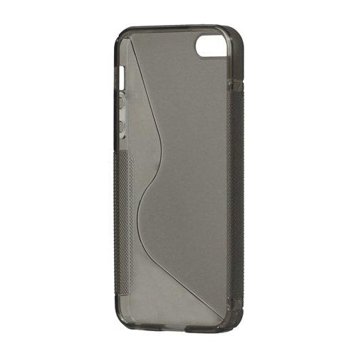 iProtect  Schutzhülle iPhone 5 / 5s Hardcase S-Line grau