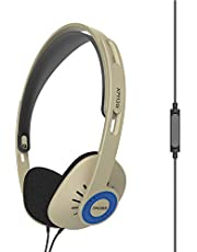 Koss KPH30i On-Ear Headphones, in-Line Microphone and Touch Remote Control, D-Profile Design, Wired with 3.5mm Plug